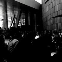The venue was full.