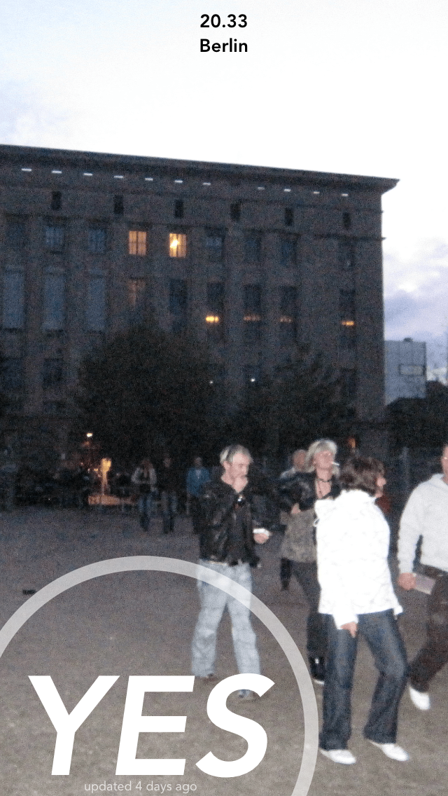 Hitech: Is There A Line At Berghain?