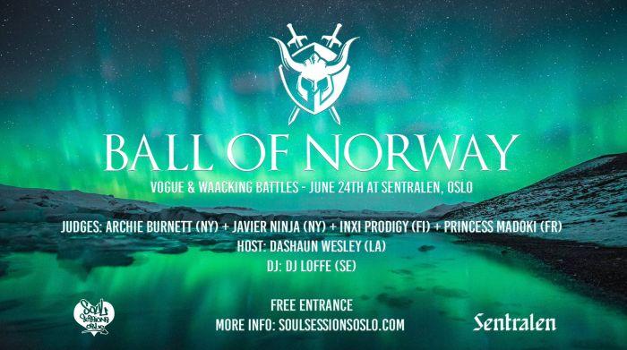 Midweek: Ball ofNorway!