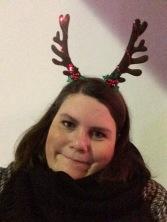 Wear reindeer fangs.